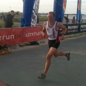 Triatlon - målspurt