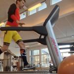 Styrketræning - opvarmning på løbebånd