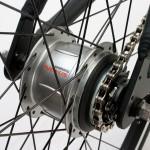 Landevejscykling  - indvendig gearskifter