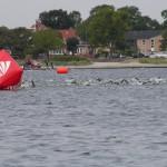 Triatlon - afmærket svømmerute