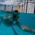 udstyr til svømmetræning - centersnorkel