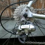 Landevejscykling  - ekstern gearskifter